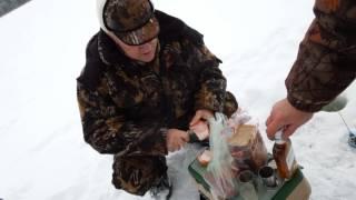 Зимняя рыбалка на волге фото