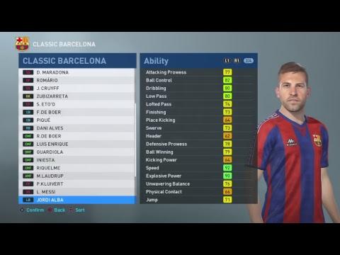 PES 2019: FC Barcelona 2005-2006 (PS4) - смотреть онлайн на