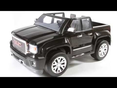 Rollplay GMC Sierra Denali (12-Volt Battery-Powered Ride-On Vehicle for kids, Black)