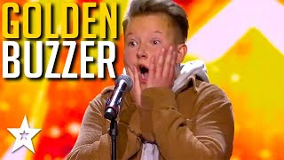 Kid Singer Gets GOLDEN BUZZER And Brings Judges To Tears! | Got Talent Global