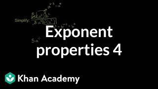 Exponent Properties 4