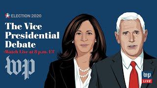 The vice-presidential debate between Kamala Harris and Mike Pence - 10/7 (FULL LIVE STREAM)