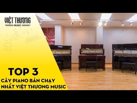 Top 3 Piano Cơ (Piano Acoustic) bán chạy nhất hệ thống Việt Thương Music