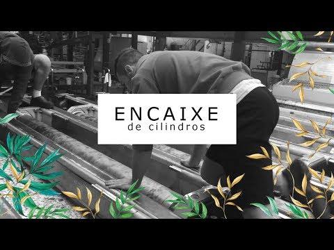 Imagem Video - Estamparia Rotativa: Encaixe de cilindros