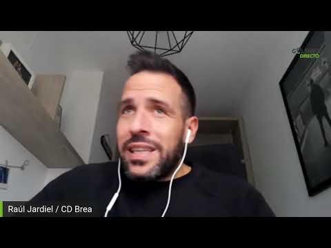 RAÚL JARDIEL (Entrenador CD Brea) entrevista de golsmedia