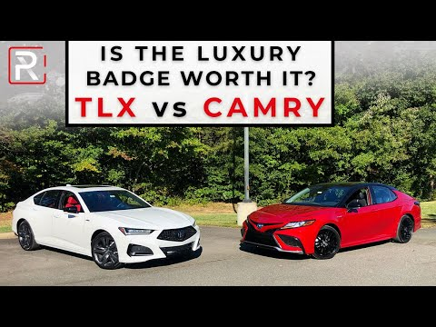 2021 Acura TLX A-Spec Vs. 2021 Toyota Camry XSE – Is The Luxury Badge Worth It?