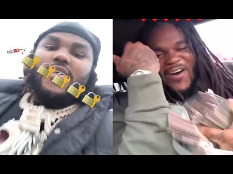 Tee Grizzley Blesses Brother Released From Prison With Tons Of Cash And Bentley