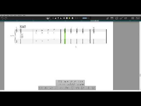 7th Chords - Gm7