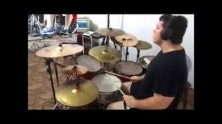 The Word Alive - Never Forget(Drum cover)Magno Antonio