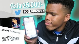 Gain THOUSANDS Of Twitter Followers In Minutes! | Quick & Easy |