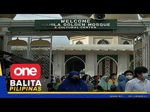 Eid al-Adha, ginugunita ng mga Muslim
