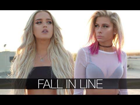 Christina Aguilera, Demi Lovato - Fall In Line (Andie Case & Macy Kate Cover)