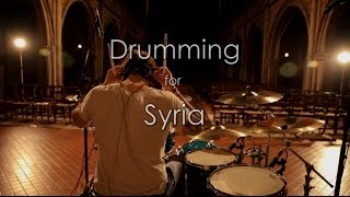 Drumming for Syria Part III - I Feel So (Boxcar Racer)
