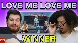 "WINNER ""LOVE ME LOVE ME"" • Fomo Daily Reacts"