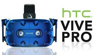 HTC Vive Pro Hands On Review - The Perfect VR Goggles? - Video Youtube