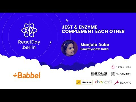 Jest & Enzyme Complement Each Other