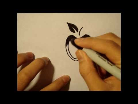 How To Draw Easy Stuff But Cool Apple Cute