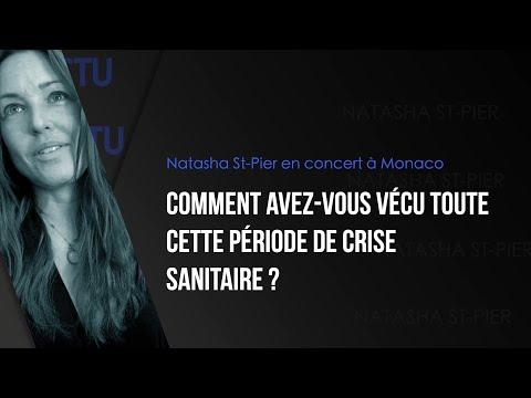 ACTU / Concert événement à Monaco avec Natasha St-Pier
