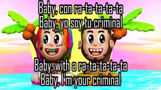 Bebe 6ix9ine Tekashi Ft. Anuel Aa -   &  S   English And Spanish