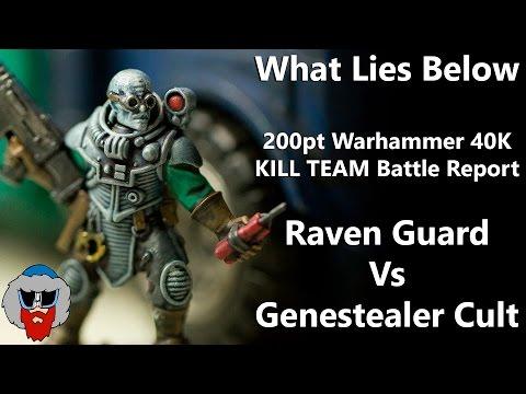 Salamanders VS Genestealer Cult - 8th Edition Warhammer 40K