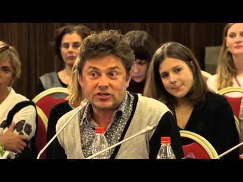 Сергей Белоголовцев на круглом столе «Не молчи» на IV Международном Форуме фонда \