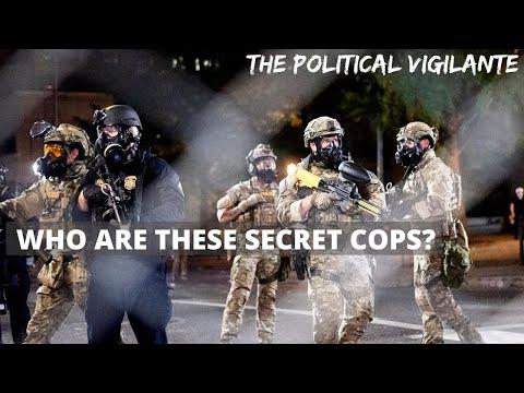 DHS Revealed As Secret Cops In Portland