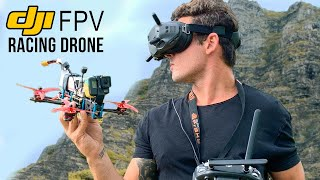 How To Build a Cinematic FPV Racing Drone! • DJI Fpv