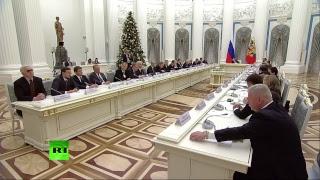 Путин на заседании Совета по стратегическому развитию и приоритетным проектам