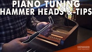 Piano Tuning Hammer Heads & Tips