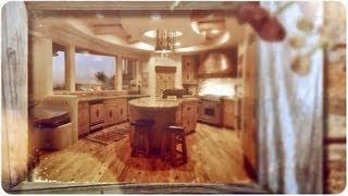 Rustic & Log Home Kitchens
