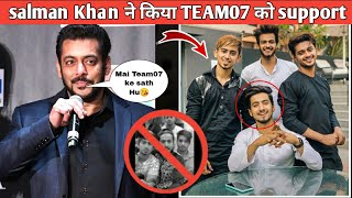 Salman khan ने भी किया Team07 को support- Hasnain07, Adnaan07, Faizbloch, | king Mr Faisu Is back