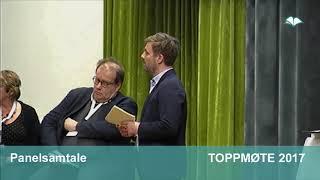 Toppmøte 2017 – Panelsamtale