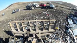 CAT 826 Landfill Compactor