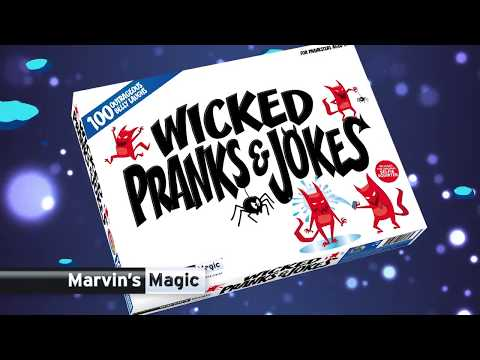Youtube Video for Wicked Pranks & Jokes - for the Prankster!