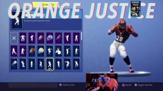 Ninja Reacts to FORTNITE DANCES IN REAL LIFE! [NFL EDITION] By Ding Productions