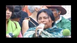 preview picture of video 'San Cristóbal de Las Casas y Tuxtla Gutiérrez, Chiapas: Ciudades inseguras, marcha.'