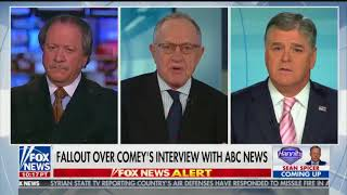 Dershowitz confronts Hannity about relationship with Cohen