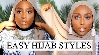 MY EASY GO-TO HIJAB STYLES!   The Ramadan Daily   Aysha Abdul