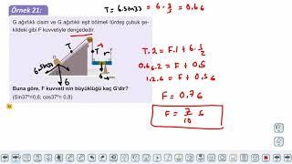 Eğitim Vadisi AYT Fizik 8.Föy Basit Makineler 4 (Eğik Düzlem ve Vida) Konu Anlatım Videoları