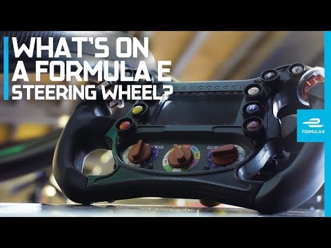 The Formula E Steering Wheel Explained With Sebastien Buemi And Oliver Rowland