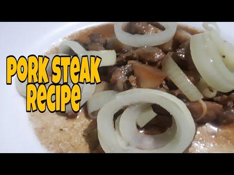 PORK STEAK | COOKING RECIPE