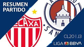 Resumen y Goles   Necaxa vs San Luis   Jornada 3 - Clausura 2020   Liga BBVA MX