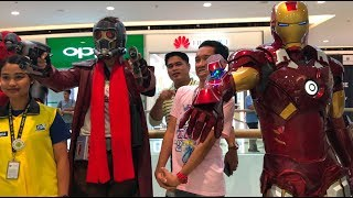 Cosplay Craze SM Seaside 2018 Killerbody Iron Man Suit Cebu Philippines