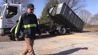 My New (Hunter Truck-Peterbilt) 220 with a American Palfinger Hook Lift Hook Truck Training