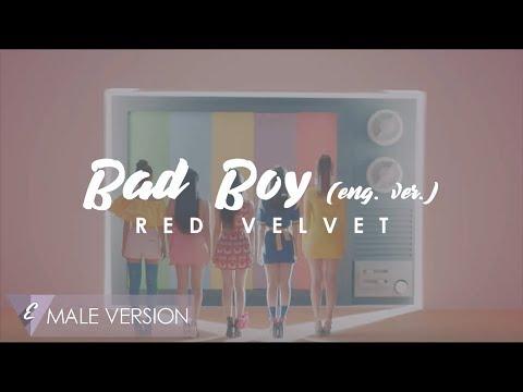 MALE VERSION   Red Velvet - Bad Boy (English ver.)