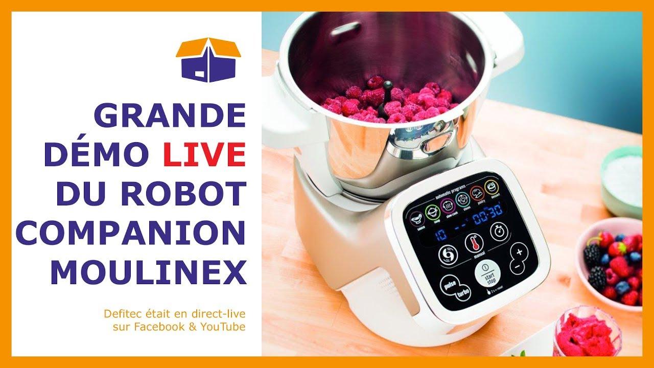 Découvrez le robot de cuisine Companion de Moulinex