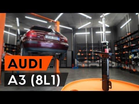 Wie AUDI A3 1 (8L1) vorderes Federbein wechseln [TUTORIAL AUTODOC]