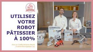 les accessoires des robots Kenwood
