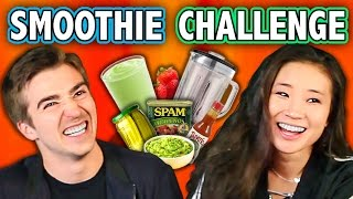 GROSS SMOOTHIE CHALLENGE (ft. React Cast & FBE Staff) | Challenge Chalice
