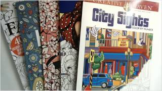 Flip-through Saturday - City Sights, Whimsy Girls, Cats, Hygge, And More